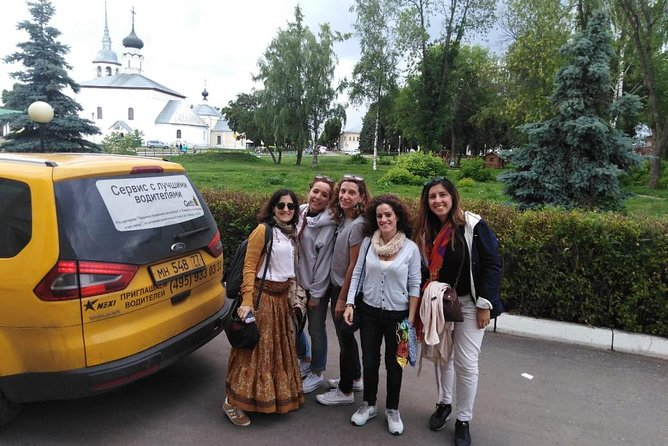 If you are in Moscow but want to visit rural traditional Russia, that is the perfect tour of your choice. The famous Golden Ring towns of Sergiev Posad, Vladimir and Suzdal with surrounding villages can be visited on a day private drive from Moscow by car with an experienced driver. We will pick you up at your hotel early in the morning in order to start your drive to Sergiev Posad (1 hr) and then to Vladimir, Suzdal (2-3 hrs). The drive back is to start at around 6 p.m. and you are to be back in Moscow at 9-10 p.m., depending on the traffic. On the way back we will also ensure that you head back to your hotel just in time to have some late evening cocktails!