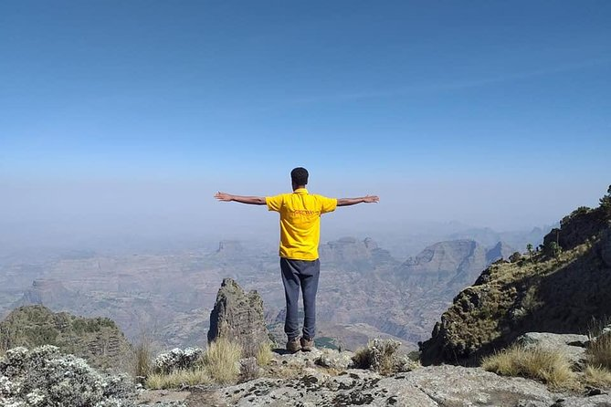 "Start and end in Gondar! With the hiking & trekking tour The Simien Mountains Trek, you have a 2 day tour package taking you through Gondar, Ethiopia. The Simien Mountains Trek includes 4WD transportation to and from Gondar, cook & cooking materials, mule(s) & mule handler, sleeping bags & mattresses all park entrance fees plenty of food & bottled mineral water and more.<br><br>Additional information <br>Semien Mountains National Park (SMNP) is dubbed as the ""Roof of Africa,"" Ethiopia has the highest elevated portion of landmass on the continent. The SMNP is part of this landmass, it was declared as a World Heritage site by UNESO in 1978."