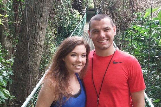 Roatan Shore Excursion: Hanging Bridges Eco Tour and Beach Break, Roatan, HONDURAS