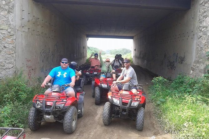 Atvs With Danitours Rural Areas Montains River Carne Azada For Lunch, Manzanillo, Mexico