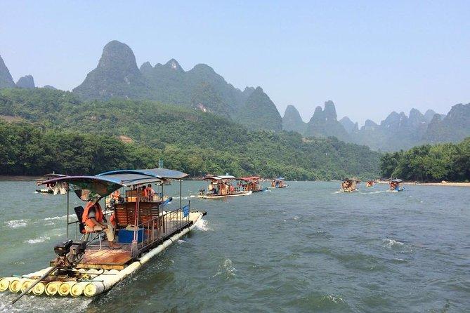 Guilin to Yangshuo Li River bamboo Cruise(official operator), Guilin, CHINA