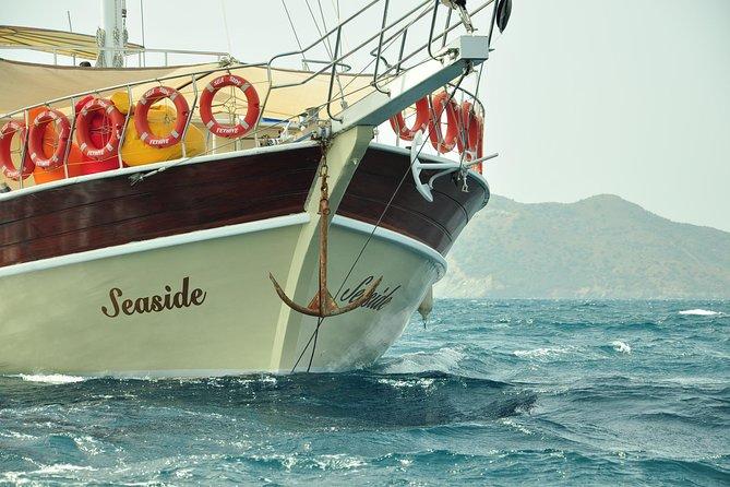 The best Boat trip in Fethiye area . 12 island boat trip Sailing boat Seaside travel agency ......
