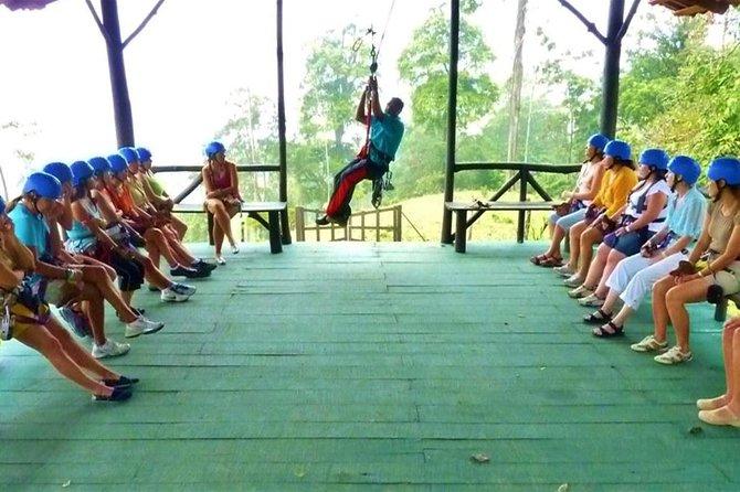 Zipline, Tarzan Swing, and Blue River Adventure from Liberia, Liberia, COSTA RICA