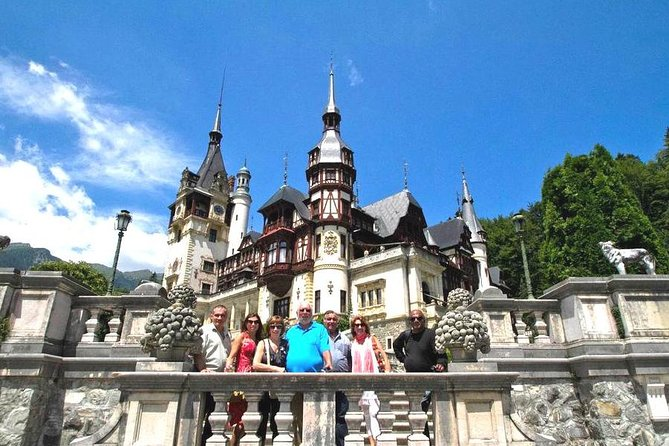 This is a small group full day tour from Bucharest to Transylvania on a very picturesque route through the Carpathian Mountains allowing you to discover two of the most beautiful Romanian castles - Peles Castle & Bran (Dracula's) Castle - as well as the city of Brasov in south Transylvania.