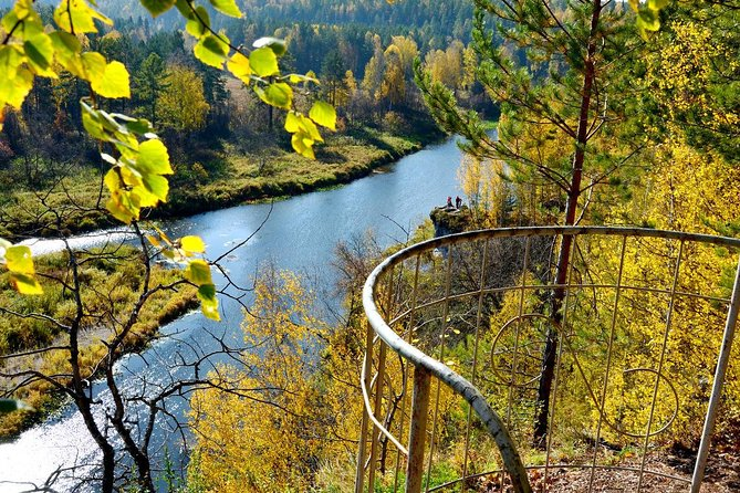 You will see a pure beautiful nature of the Urals - forest, river, hills and caves on 6 or 15 kilometers routs. Wear a warm season outdoor fit - it's might be rainy day.