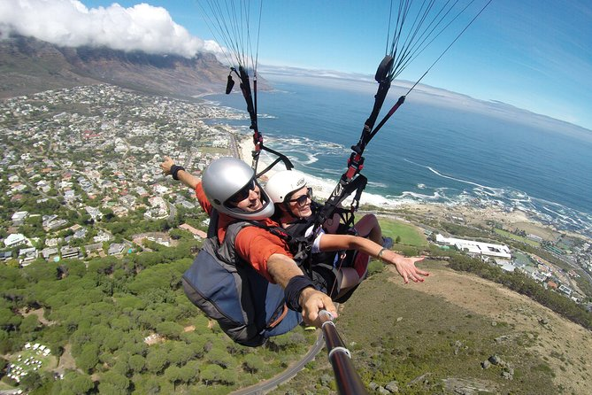 We will make your dream of flying like a bird come true.<br>We offer professional Tandem Paragliding flights with spectacular views. We have a 100% safety record so sit back and enjoy the experience of paragliding over Cape Town! All ages welcome and a minimum of 20kg and max 120kg. Your pilot has been paragliding for 23 years so you are in good hands with a 100% safety record! Tick off your bucket list now.