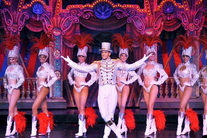 Jantar e show Moulin Rouge, Paris, Paris, França