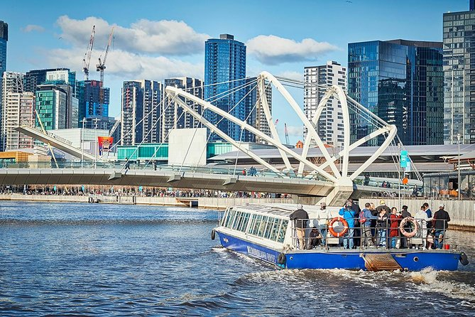 Spend a leisurely hour or so cruising down Melbourne's famous Yarra River. Learn about the historical Victoria Docks and the landings of the early settlers on this sightseeing Melbourne cruise.