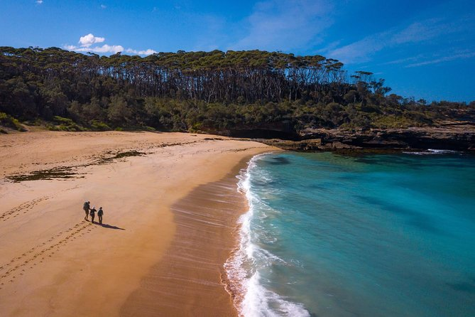 Walk incredible ancient coastline on the NSW South Coast, with pristine scenery to enjoy. This vehicle-supported experience allows you to hike with just your day pack, meeting your bags at the end of each day in one of our gorgeous accommodation options. <br><br>In this 3 day guided walking experience along an award-winning hiking trail, you will pass through exquisite geological sites, long sandy beaches, forest and cliff tops with breathtaking views. Enjoy great fresh food along the way and relax in absolute comfort in wonderful accommodation in the National Park. <br><br>This hike is low to moderate in difficulty, and includes plenty of downtime for rest and relaxation.