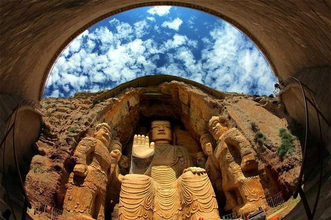 Explore the highlights of Wuwei on this private full-day tour from Lanzhou. Admire the 15m-high Shakyamuni Buddha at Tianti Grottoes which have over 1500 years of history. Discover the 2000 years old Han Tombs at Leitai Park and Museum. Marvel at the 12-storey Luoshi Pagoda which was built between AD 384~403 dedicated to Kumarajiva- the great translator of Buddhist sutras whose tongue was buried beneath the pagoda. This private day tour including English speaking tour guide, entrance fee, local lunch, travel by private vehicle. You can choose to finish your tour in Wuwei, or back to Lanzhou.