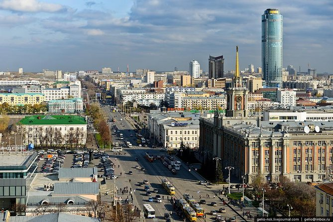 I was born there and I really love Yekaterinburg. I want to share you all what I know about it. We will visit historical museum, historical downtown and 1905 square or church on the blood