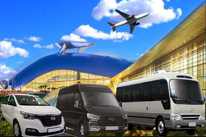 Airport Transportation by a private vehicle between ICN and Seoul., Incheon, COREA DEL SUR