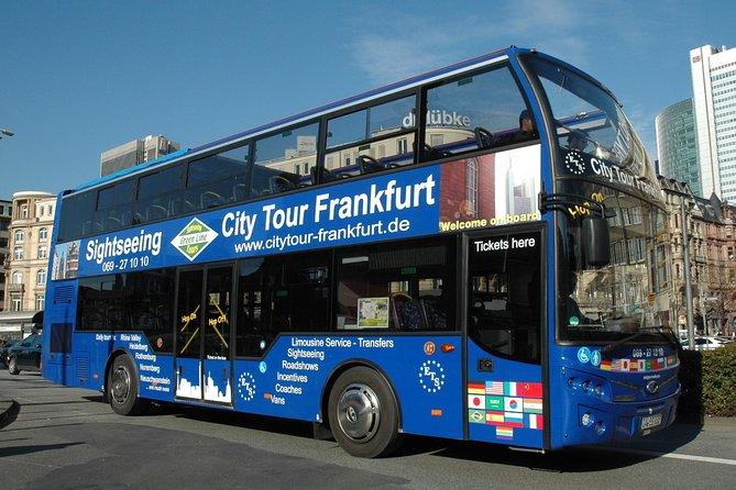 Frankfurt City Hop-On Hop-Off Tour, Frankfurt, GERMANY