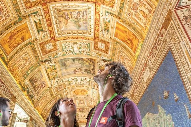 What you will see:<br>• Vatican Museum<br>• Pinacoteca Courtyard – with views of St. Peter's Basilica<br>• Pinecone Courtyard<br>• Chiaramonti Museum<br>• Gallery of Candelabra – ancient sculptures<br>• Gallery of Tapestries<br>• Gallery of Maps<br>• Sistine Chapel<br>• St. Peter's Basilica<br>• St. Peter's Square