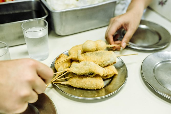 You'll join one of our local Osaka hosts to eat your way around one of the best-kept gourmet secrets inOsaka: Ura Namba. This tiny enclave boasts a cornucopia of classic izakaya (Japanese bars), hole-in-the-wall eateries, sushi dens, exciting fusion restaurants and quirky bars that can't be likened to anywhere else in the city! So, together with your host, you'll wander off the beaten tourist track and take to the alleys! Here, you'll experience a local culinary feast.<br>Within 24 hours after booking you'll receive a short questionnaire about your personality and interests. Based on your responses, you'll be assigned a like-minded host. Your host will communicate with you directly to suggest an itinerary to help you discover what makes the city unique. You will also agree on a meeting time and place. Your itinerary is flexible, so during the experience, you can always change your mind about what you want to do.
