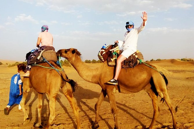 Head it from the Atlantic Ocean city to an adventure of desert camping and an overnight in the desert bivouacs, and have an unforgettable desert tour in two days. The visit includes some visits to the old Kasbahs throught the road to the Daraa Valley. Discover more about the Berber culture and also enjoy the beautiful and natural atmosphere with your family or friends.