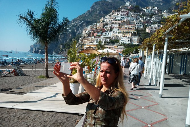 Explore the beautiful Amalfi Coast with this great Shore Excursion from the Naples Cruise Port. <br>Pick up from the port of Naples will be followed by a drive along the Amalfi Coast with stops for pictures along the way. Enjoy time stop for a short visit the wonderful towns along the Amalfi Coast:<br>• Positano<br>• Amalfi<br>• Ravello<br>Limoncello Tasting in a real Limoncello Factory<br>You will have shopping and lunch time. <br>Private or Shared Tour available options.<br><br>Worry-free Shore Excursion: <br>We will ensure your timely return to the Naples Port for this activity. In the rare event your ship has departed, we will arrange for transportation to the next port-of-call. See our terms and conditions for full details.