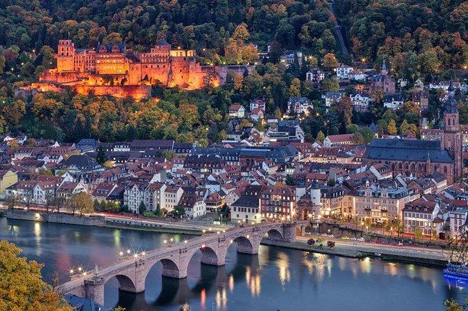 Excursión de un día a los castillos de Heidelberg y Schwetzingen desde Fráncfort, Frankfurt, ALEMANIA