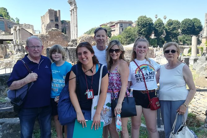 Beat the crowd at the Colosseum, the Roman Forum and Palatine Hill with our skip-the-line tickets! Your private driver will pick you up at the hotel and drop you off at the first leg of your 3-hour walking tour. Alessandra will be there waiting for you, and she will be your charismatic, enthusiastic, history expert and top-rated personal guide. Together, you will explore Rome's main attractions: the Colosseum, the Roman Forum and Palatine Hill. Dig into the ruins and learn all about the best preserved sites of ancient Roman history. <br><br>Harness the power of storytelling by allowing Alessandra to transport you back in time, you won't just see the monuments of Ancient Rome, you will feel their significance.