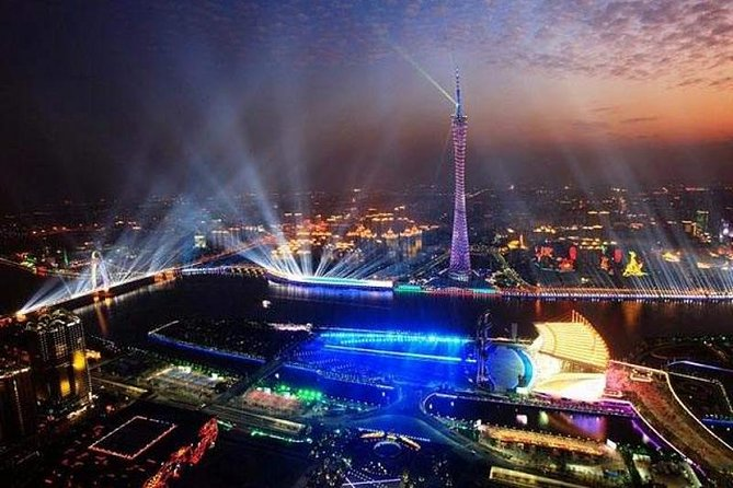 Private Guangzhou Night Tour with Canton Tower and Bar Hopping, Canton, CHINA