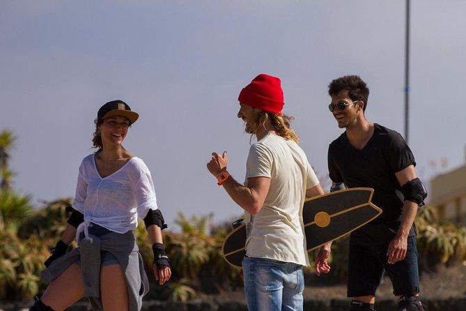Surfskate lessons, Fuerteventura, ESPAÑA