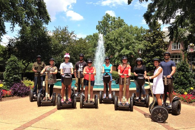 Buzz through Charlotte's hopping Uptown neighborhood on this Segway tour of North Carolina's biggest city! Follow your local guide as you glide along the Levine Avenue of the Arts and check out the Mint Museum, the Bechtler Museum of Modern Art, The Gantt Center and the historic Fourth Ward. Choose either a 1.5- or 2-hour ride – the longer ride includes two historic cemeteries and the Carolina Panthers football stadium.