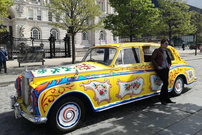 Welcome to The Beats Tour, discovering the world of the Beatles and the city of Liverpool. <br>Ride in a replica of John Lennon's Rolls Royce Phantom. <br>Step out and explore designated points along the route and take a closer look.