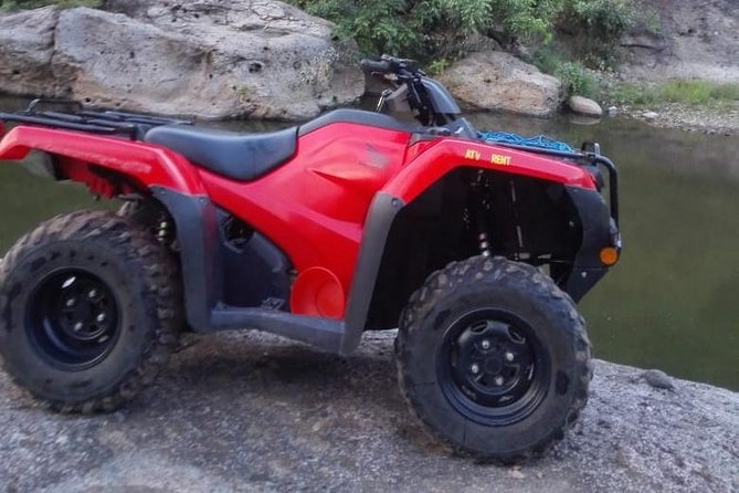 Our ATVs are the best quality San Juan del Sur has to offer. The machines are the latest and greatest Honda model and we wash and service them daily. These ATVs are safe, comfortable, and easy for all ages to drive and enjoy. Our ATVs are equip with racks on the front and back so you have plenty of room to secure your day packs or luggage.