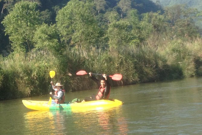 This half or one day tour combines all the activities that Vang Vieng is famous for: kayaking on the Nam Song River surrounded by rugged karsts and beautiful rural scenery and exploring limestone caves. Your will have plenty of opportunities to swim in pools of fresh spring water.
