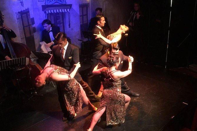 Espectaculo de tango en El Viejo Almacen con cena opcional en Buenos Aires, Buenos Aires, ARGENTINA
