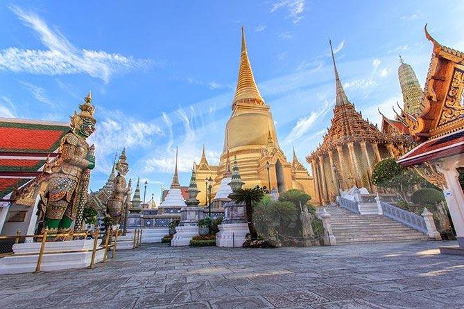 Excursión por la costa de Bangkok: recorrido privado del Gran Palacio y templos budistas, Bangkok, TAILANDIA