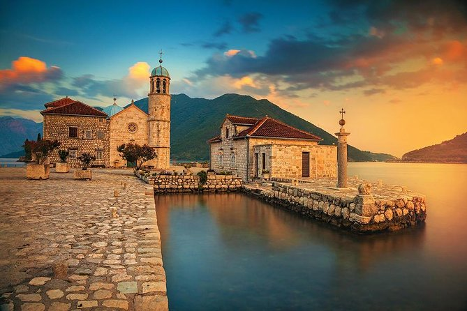 This tour is a private tour from Kotor port and hotels in Kotor to Perast, Our Lady of Rocks, Budva, Kotor Old Town.