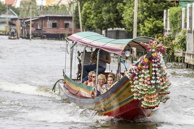 Passeio de balsa aos arrozais de Bangcoc, na parte da tarde, Pattaya, Tailândia