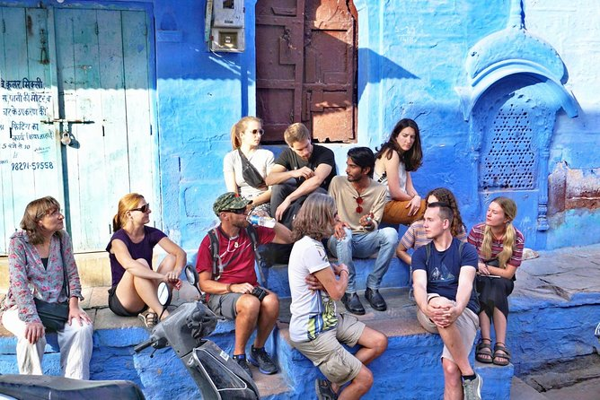 GET TO KNOW MORE ABOUT THE BLUE CITY OF JODHPUR .WHILE WALKING IN NARROW ALLYS OF TOWN. THIS TOUR WILL END UP WHILE WATCHING SUNSET FROM 360 HILL AND HAVING A SPECTACULAR VIEW OF BLUE CITY.