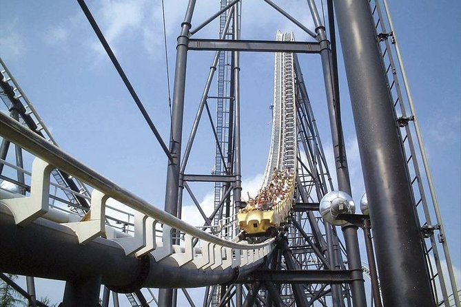 Entry to Fuji-Q but also unlimited rides within the park with this Free Pass ticket<br>the park's four thrilling roller coasters<br>