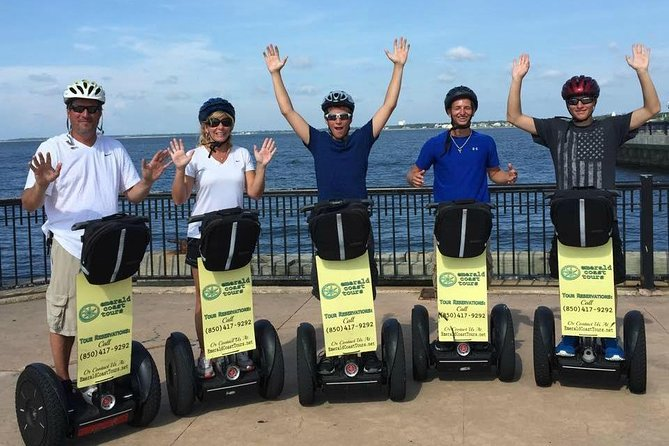 1hr Historical Segway tour of Downtown Pensacola. Not as much history told as on our 2hr tour and not as many stops. Routes may vary depending on tour guide.
