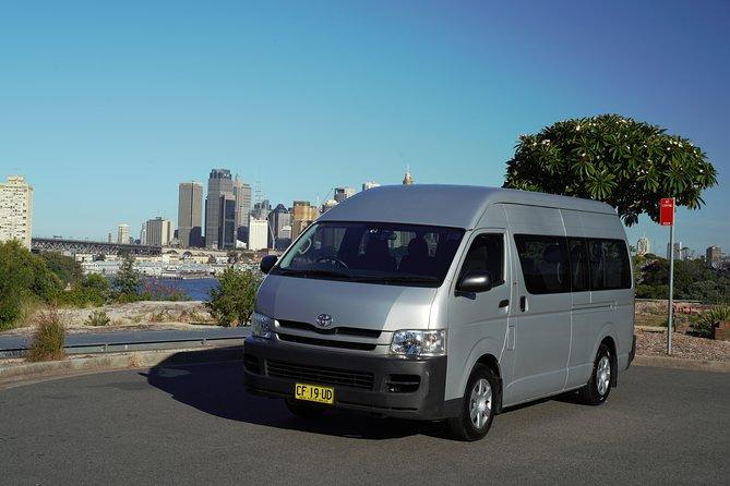 Servicio de traslado desde el hotel de la ciudad de Sídney o el puerto de cruceros al aeropuerto de Sídney, Sidney, AUSTRALIA