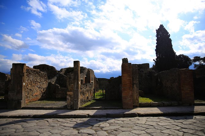 Skip-the-line Small Group Guided Walking Tour of Ancient Pompeii Highlights, Pompeya, ITALY