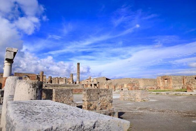 Fast Access Exclusive Private Ancient Pompeii Herculaneum & Oplontis Guided Tour, Pompeya, ITALY