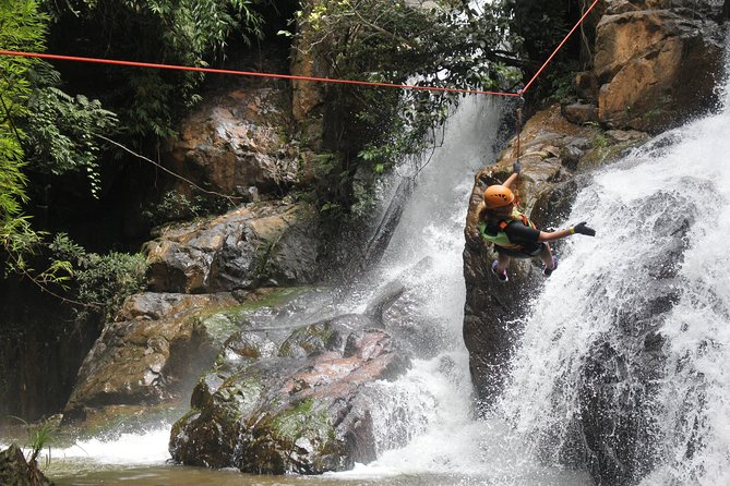 Dalat Canyoning Tour - The Most Things To Do In Dalat, Vietnam<br>If you are addicted to adrenalin and adventure, there is a day of excitement that you simply must experience. You will make your way down the waterfalls, with professional guides beside you every step of the way. The action never stops, as you hike, slide, swim, and rappel your way down the falls, and all without any experience required.<br>
