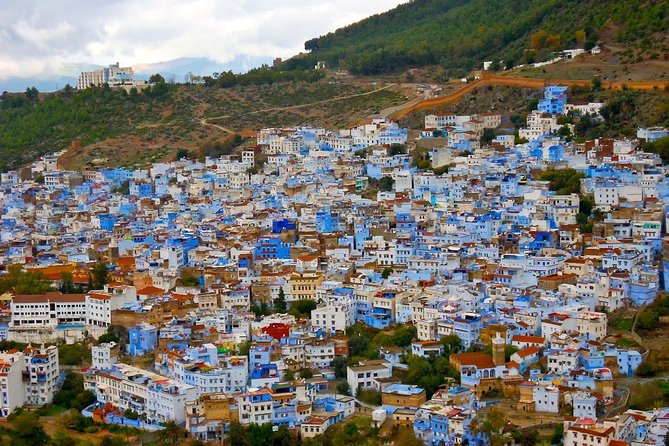 In this tour, discover The medina of Chefchaouen the blue pearl of Morocco and the rif mountains, with an introduction to it andalussian-Arab history, culture and lifestyle, have a local experience, explore the tiny streets, the beautiful blue doors, and the colorfull stairs in the medina, See the small waterspring which is the main source of water in the area. <br>Have lunch in a nice local restaurant and discover the mediterranean diet. <br>Go back Tangier by the 6Pm, and if time permits visit some attraction in Tangier.<br>