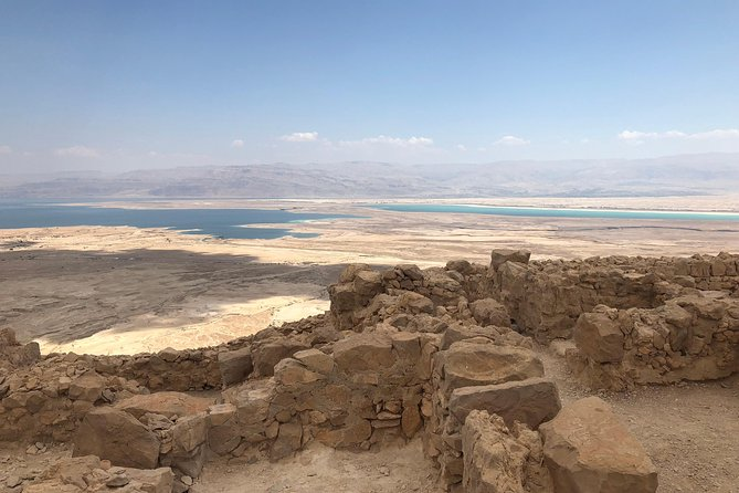 Masada, Ein Gedi and The Dead Sea from Jerusalem, Jerusalen, Israel