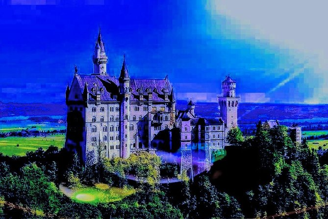♧|♧ Best for avoiding crowds!<br><br>The famous Fairytale Castle NEUSCHWANSTEIN is the 2nd most visited attraction in Germany. It captivates 1.5M visitors with its dreamy beauty, inspired by characters from Wagner's epic operas. Unfortunately this means that up to 8,000 visitors/day crowd the place all year long.<br><br>This tour gives you the unique opportunity to avoid these crowds and enjoy the calm of the early mornings also at the HOHENSCHWANGAU castle in peace. Immerse yourself in the magnificence of the castles and grounds. As the day awakens, the fairy tale comes to life around you.<br><br>Our expert guide will give you space to enjoy the calm magic while being at your disposal and alert to your needs&questions at all times.<br><br>Why travel with us<br>• Get GUARANTEED SKIP-THE-LINE TICKETS even at short notice<br>• Know that your day is planned and conducted by a friendly&professional tour guide<br>• Enjoy the perfect symbiosis of traveling in relaxed comfort and fully leveraging your precious vacation time