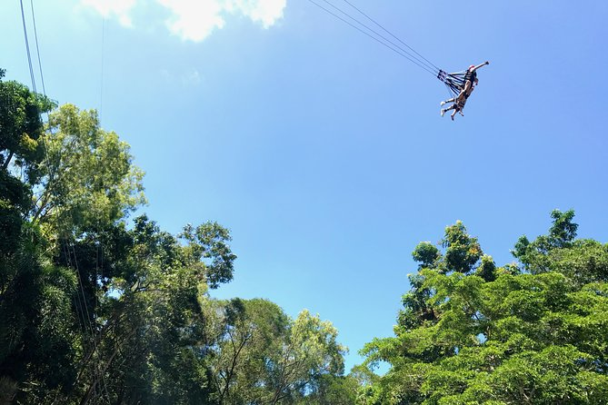 Bungy Jump or Giant Jungle Swing or Bungy & Swing Combo, Cairns y el Norte Tropical, AUSTRALIA