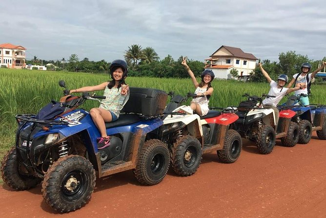 MAIS FOTOS, Siem Reap Quad Bike Countryside Sunset Tour for 1 hour driving