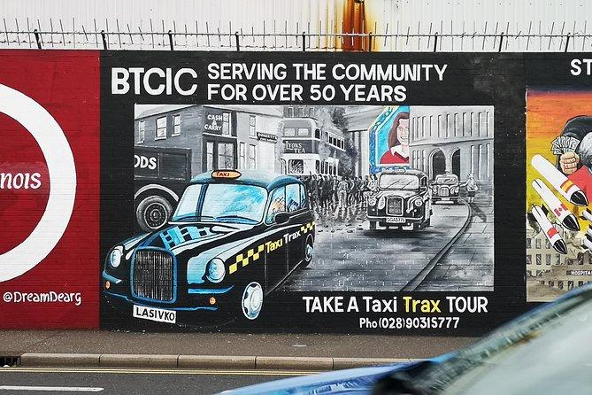 Official World Famous Belfast Conflict Taxi Tour, Belfast, IRLANDA