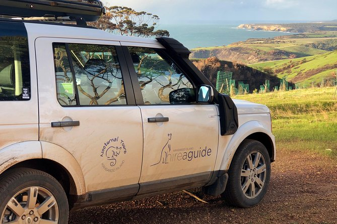 Travel in a comfortable 4wd to visit Seal Bay, take a stroll to observe the Sea Lions sleeping on the beach, look for koalas at Flinders Chase National Park and enjoy a gourmet BBQ lunch with Kangaroo Island wines (optional). After lunch, visit the Flinders Chase National Park, home of Admirals Arch and Remarkable Rocks and have a nice cup of coffee watching the kangaroos at sunset at Grassdale Conservation Park ... this is what you can do and much more! During the tour will see a lot of wildlife including the elusive echidna. You will have an experienced tour guide all for your group (max 6 passengers) and with their experience you will be able to observe the wildlife in their natural habitat.