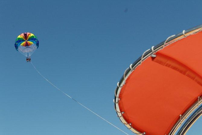 Parasailing Adventure on Albufeira's Coastline!, Albufeira, PORTUGAL