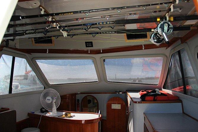 Travesía privada de pesca Big Marlin en barco Sherlock de 11 metros desde Punta Cana, Punta de Cana, REPUBLICA DOMINICANA