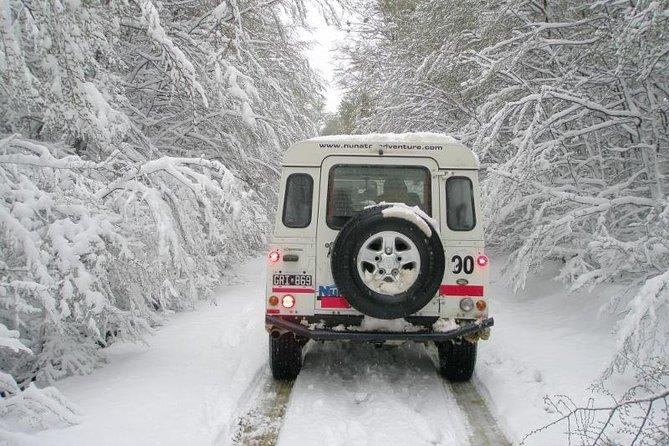 Recorrido de aventura en vehículo 4WD por los lagos de Tierra del Fuego desde Ushuaia, Ushuaia, ARGENTINA